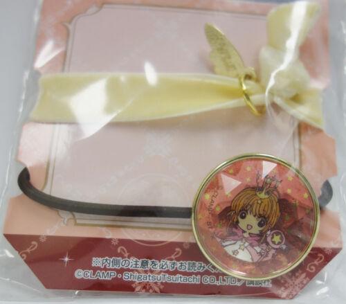Banpresto Kuji CardCaptor Sakura Fortune Magic Prize F Hair Tie Elastic Band Set