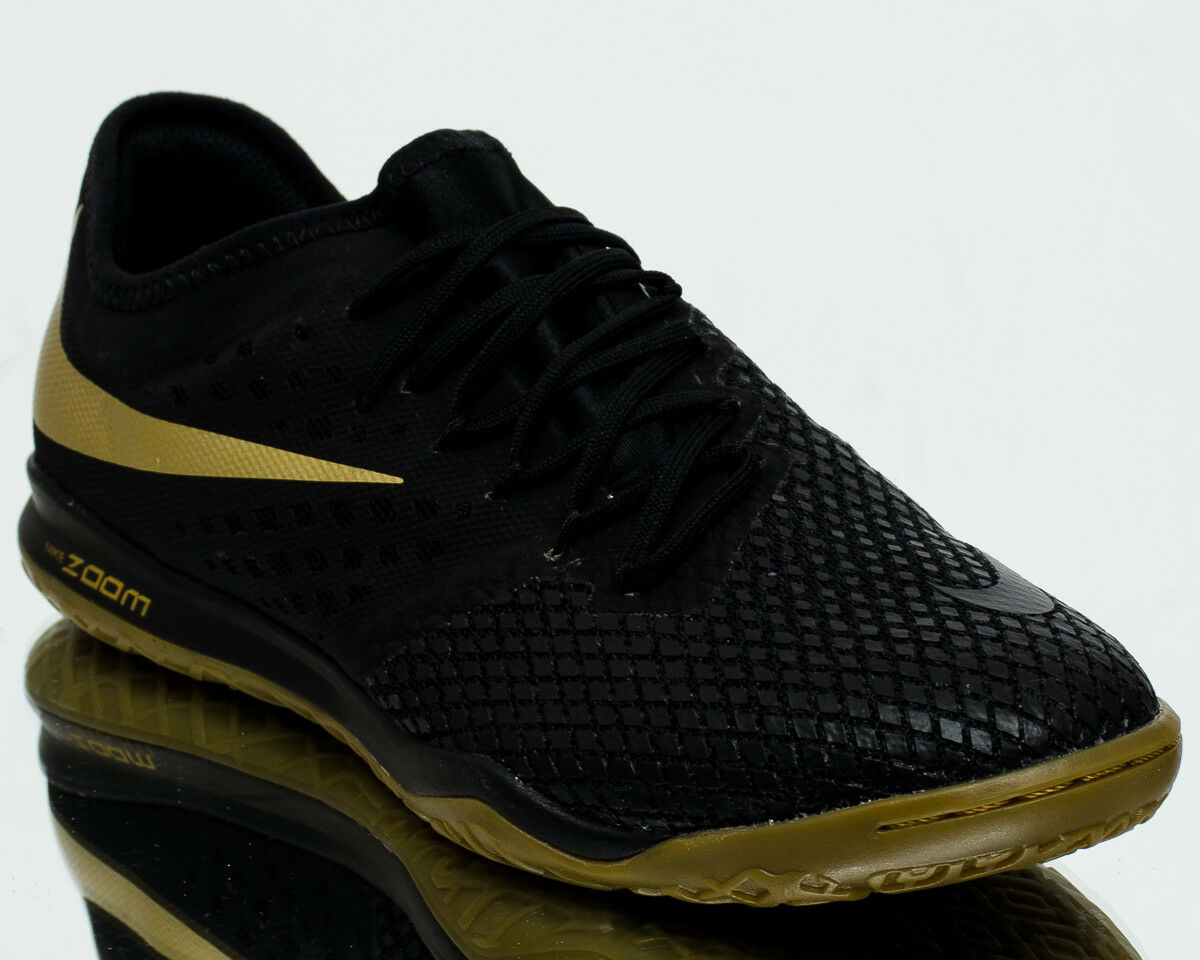 Nike Zoom Hypervenom PhantomX III Pro Metálico IC Negro Metálico Pro vivos Dorado AJ3804-090 5f2ef8