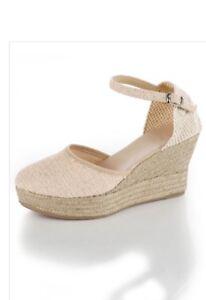 Moda Espadrille Mit Keilabsatz Sandaletten Alba 95€ Np Gr37 79 X8n0OkZNPw