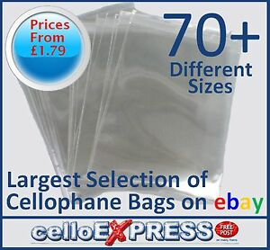 Clear-Cello-Card-Bags-Cellophane-Display-Bag-for-Cards-amp-Photos-UK-Post-Free