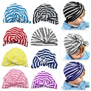 Articles pour bébé Bébé Indien Twist Noeud Bonnet Turban Casquette Bonnet Beanie Tête Écharpe
