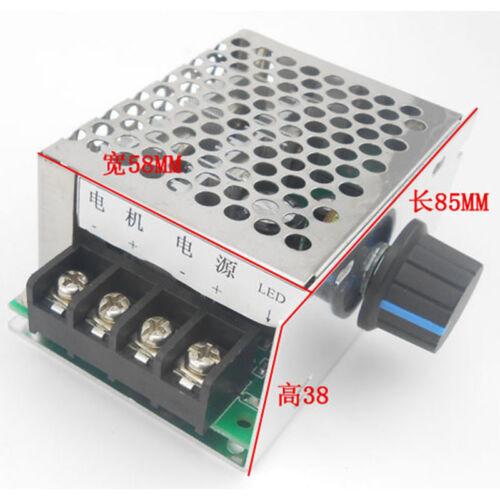 40A DC 9V-60V 12V 18V 24V 36V 48V PWM DC Motor Speed Controller Speed Regulator