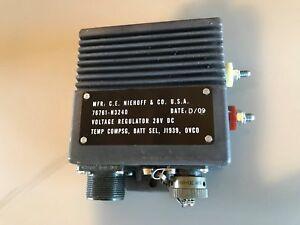 NIEHOFF-N3240-VOLTAGE-REGULATOR-FOR-N1609-1-570-AMP-MILITARY-24-VOLT-ALTERNATOR