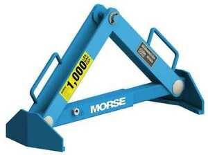 Morse 92 Drum Lifter,1000 Lb. Load Capacity