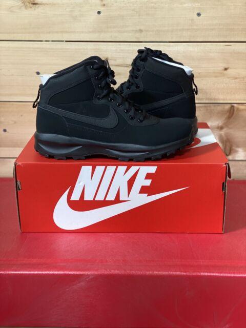 Nike Manoadome 844358-003 Triple Black Men's Hiking Trail Work Boots Size 12