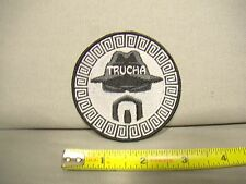 Trucha Lowrider homie iron on patch for jacket hat shirt brim