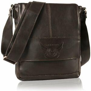 Details about Bnwt DANIEL RAY Shoulder Bag CUBA Shoulder Bag Dark Brown
