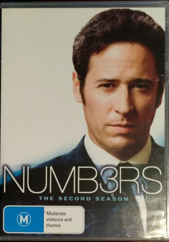 1 of 1 - NUMBERS - Season Two - Rob Morrow  6 DISCS DVD  BRAND NEW NOT SEALED