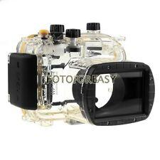 40M Waterproof Underwater Housing Hard Case for Canon WP-DC34 Powershot G11/ G12