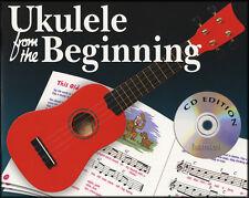 Ukulele dall'inizio Impara a Suonare principianti METODO LIBRO MUSICA/CD