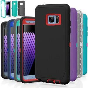 Samsung Galaxy S7 S7 Edge Case Cover Shockproof Hybrid Hard Rugged Rubber Tpu Ebay