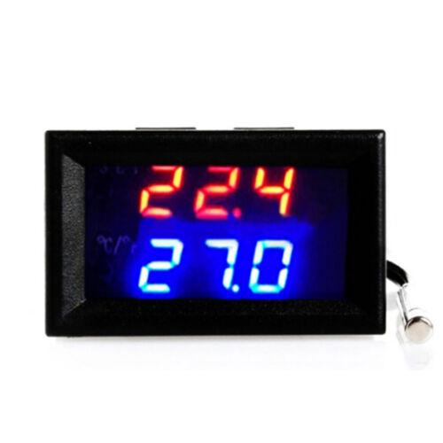 DEL Numérique Microcomputer Thermostat Contrôleur Commutateur Capteur de température