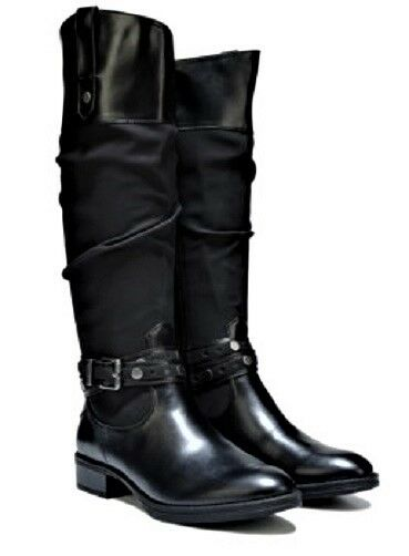 82b0c91aab0ca Circus by Sam Edelman Paxton Knee High BOOTS Motorcycle BOOTS Black Sz 6 MD  for sale online
