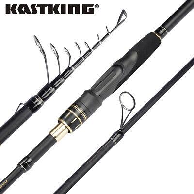 Newly Designed Travel Rod Floating Guides 1pc Fishing Rod Performance Graphite Rod Blanks /& Durable Solid Glass Tip Comfortable EVA Handle KastKing Blackhawk II Telescopic Fishing Rods
