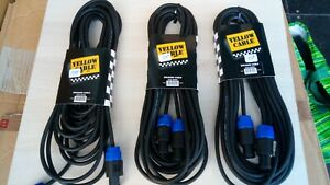 YELLOW-CABLE-cable-enceinte-ECO-HP-9SS-9m-30ft-neuf