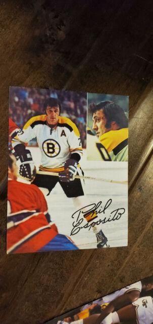 1973-74 PHIL ESPOSITO TEAM ISSUE PHOTO CARD BOSTON BRUINS ... Bruins Roster 1973