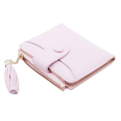 Femmes PU cuir petit Mini Coin Porte-photos embrayage portefeuille sac à main Zip Sac à Main G