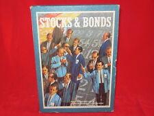 STOCKS & BONDS Game 3M Bookshelf 1964 Stock Investors Traders