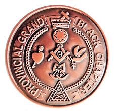 Orange Order Grand Provincial Black Chapter Token Penny