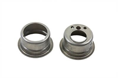 Bung Weld-in Late-Type H-D Gas Tank Filler Neck,1 Pr. Use w 1983-up style Caps