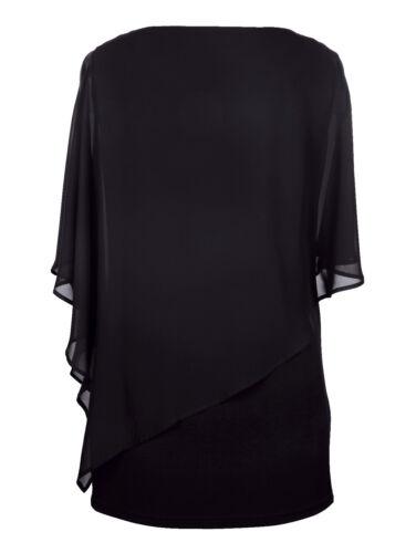 0218634055 deko Kleid Mit Gr 50 tunika Schwarz Nieten vqq0ZRtSf