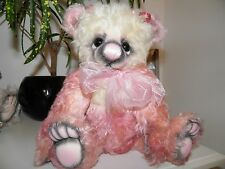 Mohair Ooak Artist Bear Cory by Teri Crew one of one
