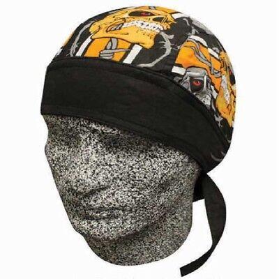 Lot of 2  Biker Do Doo Du Rags Head Wrap Skull Cap Capsmith New
