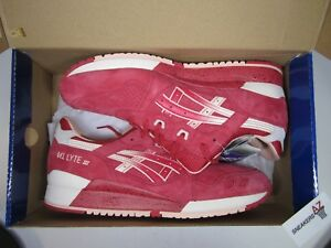 40efb730c9c9 Asics Gel Lyte III 3 Strawberries   Cream DS New Size 12 H64BK-2108 ...