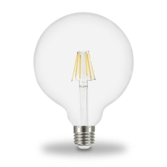 Lot of 4 277VAC E26 Base 12W 5500K Cool White Commercial//Industrial LED Bulb