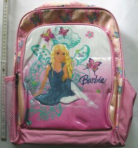Mattel Barbie stabiler Rucksack 30x35 Rückenpolster Backpack Mochila 10212