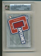 BOB GAINEY 2010-11 ITG Ultimate Les Capitaines Silver JERSEY /24 CANADIENS HOF**