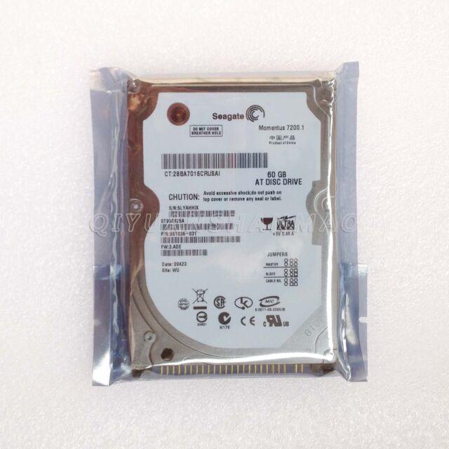 Seagate Festplatte 60GB IDE 7200 RPM 2,5 Zoll Notebook Laptop HDD HP IBM DELL