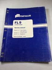 Fiat Allis Fl9 Crawler Loader Final Drives Amp Undercarriage Service Manual