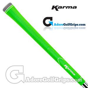 Karma-Neion-II-Standard-Size-Golf-Grips-Green-x-13