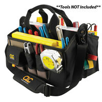 Clc 1529 16-pocket 16 Center Tray Contractor Tool Bag With Shoulder Strap