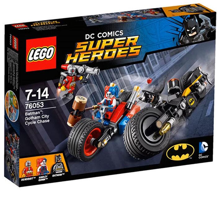 Lego 76053 súper Heroes Batman  Gotham City Cycle Chase, Harley Quinn, Batman