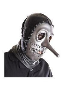Elegant Slipknot Slip Knot Chris Licensed Latex Full Mask Costume Ru68675