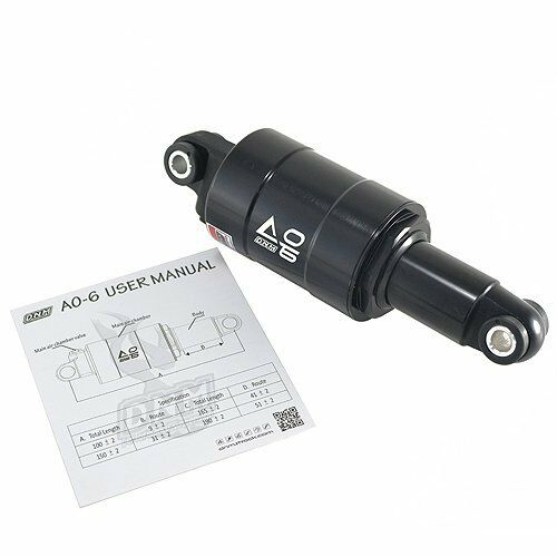 Fast SHIPPING dnm ao-6 mountain bike Bicycle air rear shock 150 x 31mm