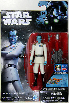 "Star Wars Rogue One Series ~ 3 3//4/"" GRAND ADMIRAL THRAWN ACTION FIGURE ~ Hasbro"