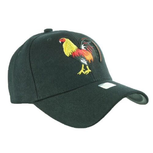 Baseball Cap Cock Fight Caps Plain Rooster Solid Hat Fashion Hats Adjustable