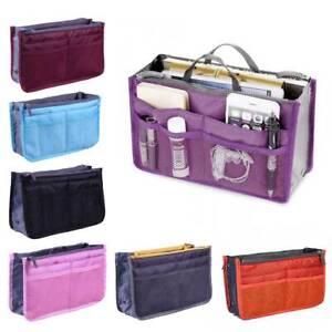 Lady-Women-Large-Travel-Insert-Handbag-Organiser-Purse-Liner-Organizer-Tidy-Bag