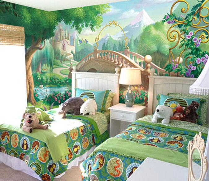 3D Märchenwelt 1565 Fototapeten Wandbild Fototapete BildTapete FamilieDE