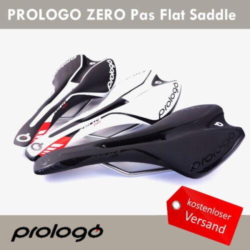 PROLOGO ZERO II PAS STN Rennrad MTB Sättel Seat Schwarz or Weiß or Schwarz//Weiß