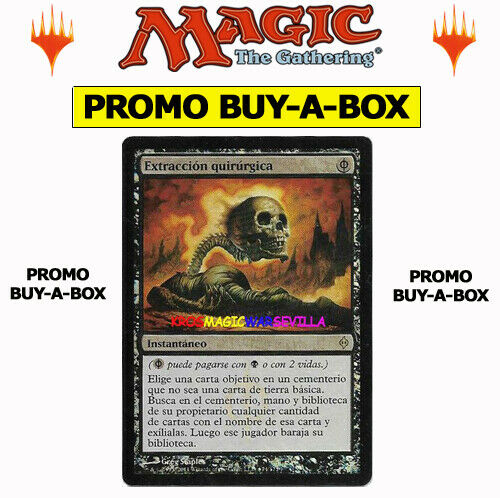 Mtg Extracción Quirúrgica Surgical Promo Buy A Box Español Nm