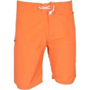Franklin-amp-Marshall-UA950-Beachwear-unisexe-orange-vif-Shorts-de-bain