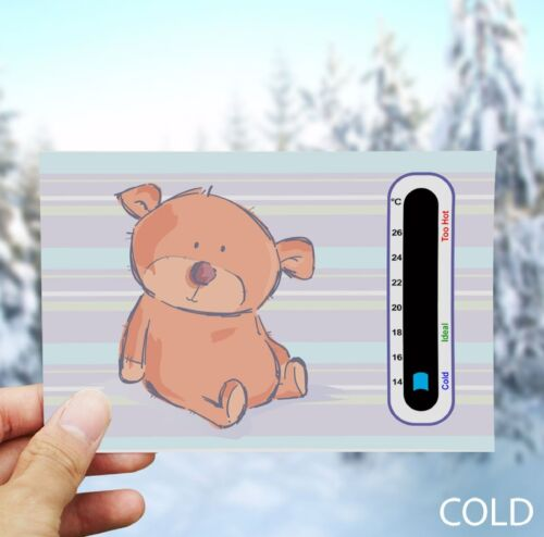 Easy Read Baby Safe Ideas Cute Bear Nursery Room Thermometer
