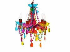 Multicoloured Gypsy Chandelier Light Lamp Small Unique Contemporary Living