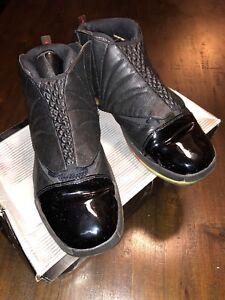 6f5896c335cbda 2001 Nike Air Jordan 16 XVI 3 4 HI Men Size 14 Black Varsity OG ...