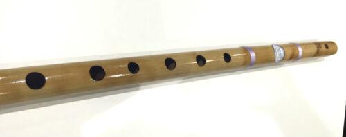 "Professional Concert Flute Scale G 17/"" /& 18/"" Bamboo Bansuri Transverse Fipple UK"