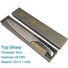 Top grade sharp knife quality 8'' inch Frozen meat cutter Chef Kitchen Sushi Bon